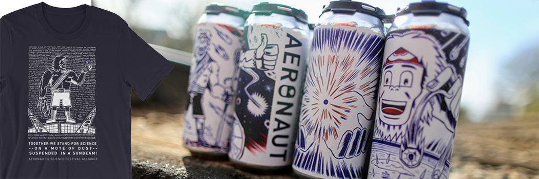 Aeronaut Brewing supports SKy Science Festival