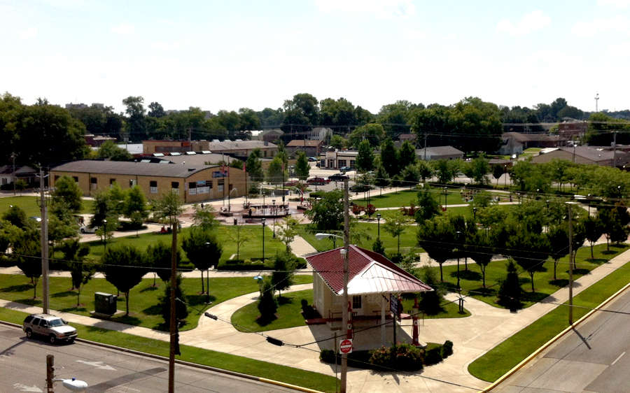 Circus Square Park, Bowling Green, KY